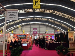 A paradise for foodies inside the Foire Gastronomique Dijon. Photo: Charlene Peters
