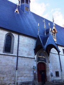 The Hospices of Beaune, established in 1443 by chancellor to the Duke of Burgundy – Nicolas Rolin and his wife, Guigone de Salins.