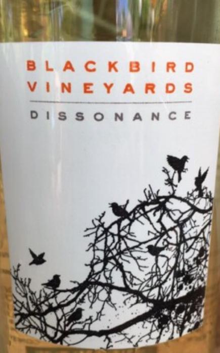 Blackbird Dissonance Wine Label