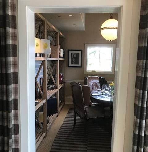 Private tasting room